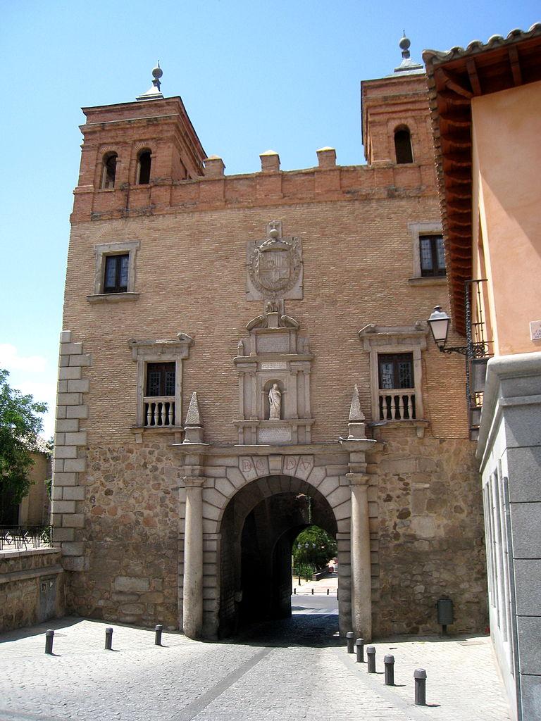 File puerta del cambron toledo view 1 jpg wikimedia for Puerta 4 del jockey