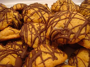 Pumpkin Chocolate Chip Cookies with Chocolate ...