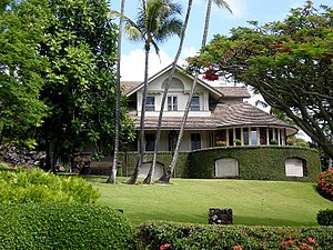 Punahou School - Punahou School President's House on campus