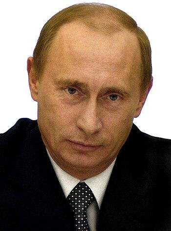 English: Vladimir Putin, the second President ...
