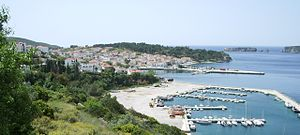 Pylos - Pylos from the north