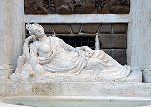 Quattro Fontane - Image: Quattro Fontane Statue Diana