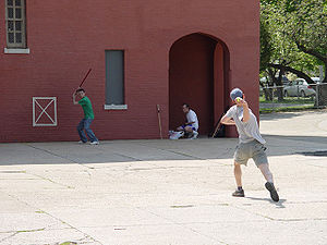 Stickball - Stickball in New York