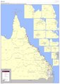 Queensland state primary and secondary schools and education regional boundaries map (excluding South-East Queensland), 2017.pdf