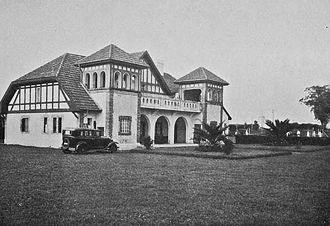 Quilmes Atlético Club - Club's headquarters as seen in 1930