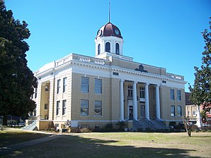 Das Gadsden County Courthouse in Quincy im Quincy Historic District, gelistet im NRHP