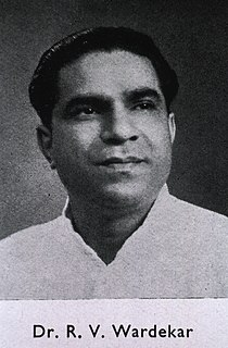 R. Ranchandra Vishwanath Wardekar Founder of Gandhi Memorial Leprosy Foundation