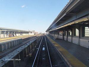 40th Street–Lowery Street (IRT Flushing Line) - Image: RFW 40St