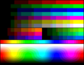 RGB 6-8-5levels palette color test chart.png