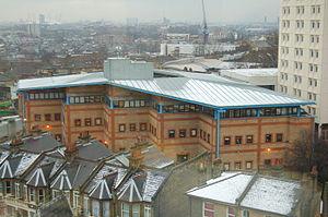 Lewisham Deptford (UK Parliament constituency) - Goldsmiths' College in New Cross
