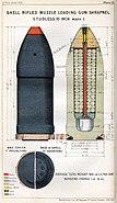 RML 10 inch Shrapnel studless shell Mk I diagram