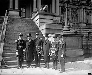 Republic of China Navy - ROCN delegation in Washington D.C., 1930.