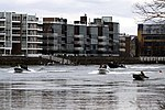 Race of reserve crews during the Boat Race in spring 2013 (3).JPG