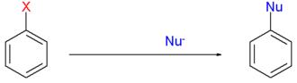 Radical-nucleophilic aromatic substitution - Radical-nucleophilic aromatic substitution overview