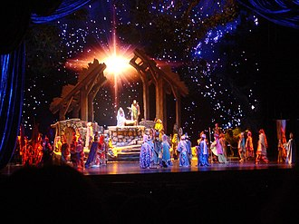 "Christmas Spectacular Starring the Radio City Rockettes - ""The Living Nativity"""