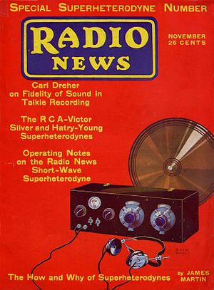 Radio News - November 1930 issue of Radio News
