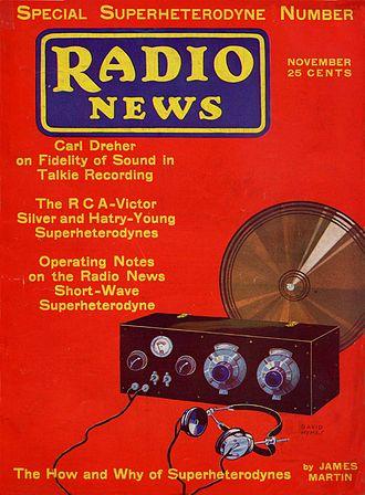 Radio News - November 1930 issue of Radio News