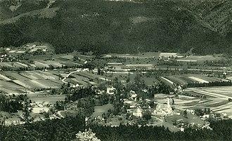 Radmirje - Radmirje on a 1936 postcard