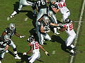 Raiders on offense at Atlanta at Oakland 11-2-08 05.JPG