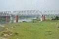 Rail Bridge Across River Jalangi - Krishnanagar - Nadia 2017-08-15 1831.JPG