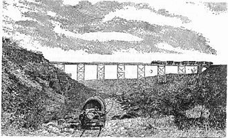 Holhol - Railroad bridge in Holhol.