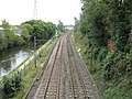 Railway and canal south of Bournville station - geograph.org.uk - 961874.jpg