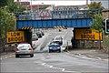 Railway bridge, Lisburn (1) - geograph.org.uk - 487598.jpg