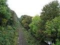 Railway track west of Wolsingham Station - geograph.org.uk - 1581056.jpg