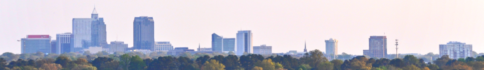 Raleigh downtown skyline - panoramio crop