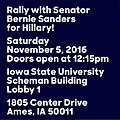 Rally with Senator Bernie Sanders for Hillary (November 5, 2016).jpg
