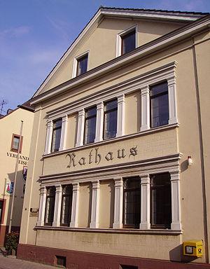 Eisenberg, Rhineland-Palatinate - Image: Rathaus Eisenberg