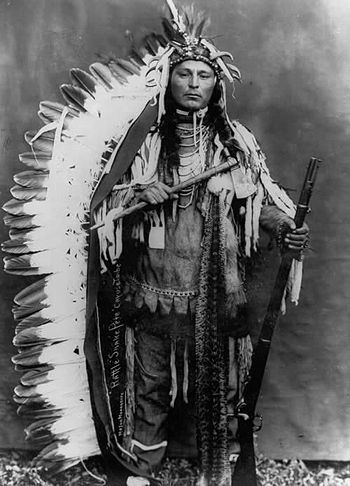 Rattlesnake Pete from the Umatilla Indian Rese...