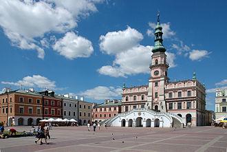 Zamość - Market Square