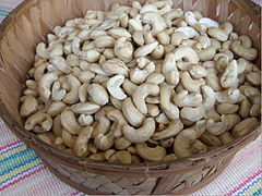 Raw cashew nuts product of Buton.JPG