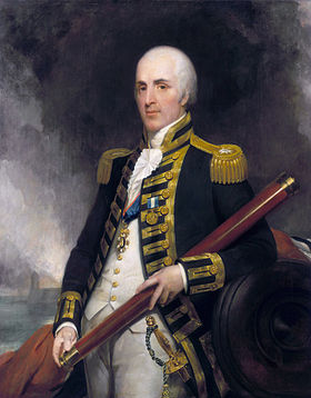 Amiral Alexander John Ball (1757-1809) (Henry William Pickersgill, circa 1805-1809)