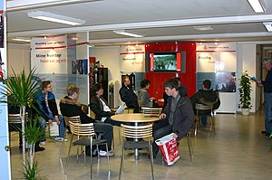 Interior of Recruiting Center Herning, Denmark