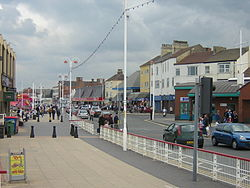Redcar Sea Front in 2005