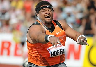 Athletics at the 2003 Pan American Games - Shot putter Reese Hoffa was one of 13 event winners from the USA.