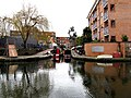 Regent's Canal, Independent Gas Company's basin - geograph.org.uk - 1728721.jpg