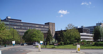 Gosforth - Some of the Regent Centre buildings