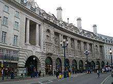 Le Mérin Piccadilly Rear Facade Facing Regent Street