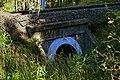 Reith bei Seefeld - Mittenwaldbahn - Wasserdurchlass vor Brücke Kaltwasserbach - 2.jpg