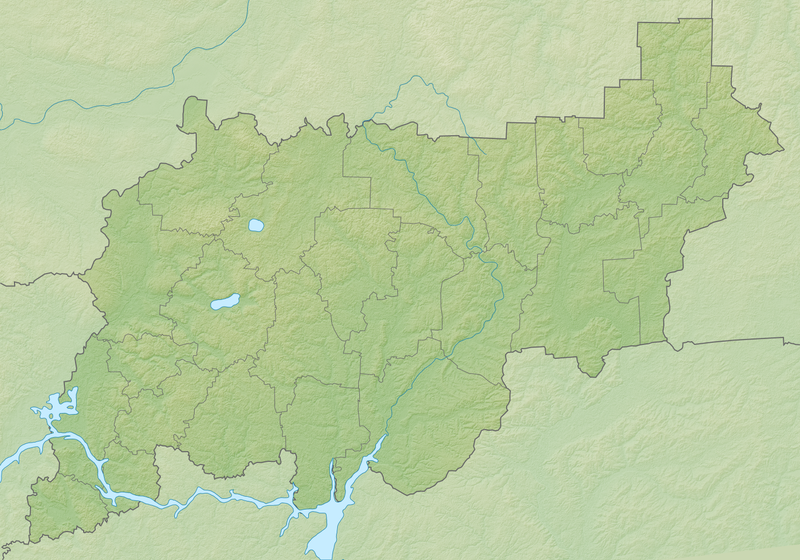 Файл:Relief Map of Kostroma Oblast.png