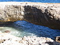 Remaining part of natural bridge, aruba, 12-2013.JPG