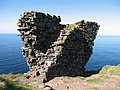 Remains of Fast Castle, Coldingham - geograph.org.uk - 157621.jpg