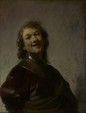 Self-portraits by Rembrandt - Image: Rembrandt laughing
