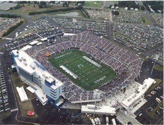 East Hartford, Connecticut - Rentschler Field Stadium in East Hartford