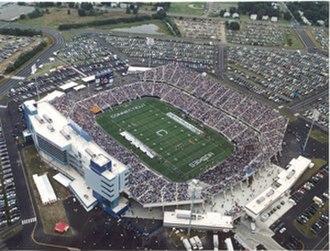 East Hartford, Connecticut - Rentschler Field Stadium in East Hartford