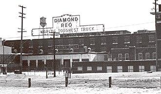 REO Motor Car Company - The REO factory in 1977