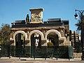 Restes de l'antiga facultat de medicina, parc de l'Hospital, València.JPG
